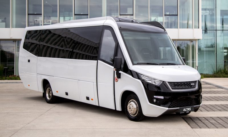 ALTAS Commercial Transport presents the first Lithuanian midibus