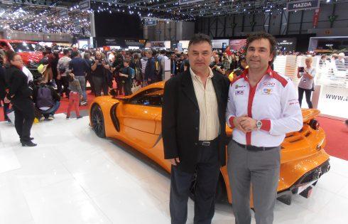 Автомобилно изложение в Женева 2019