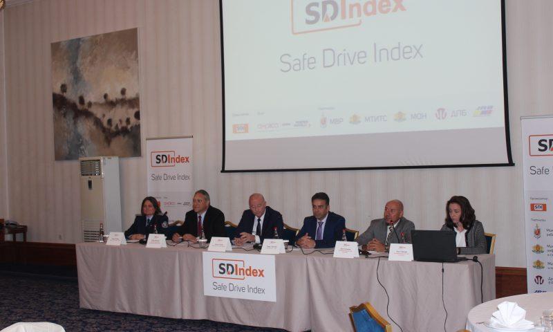 Индекс за безопасно шофиране с доклад за основните рискове зад волана