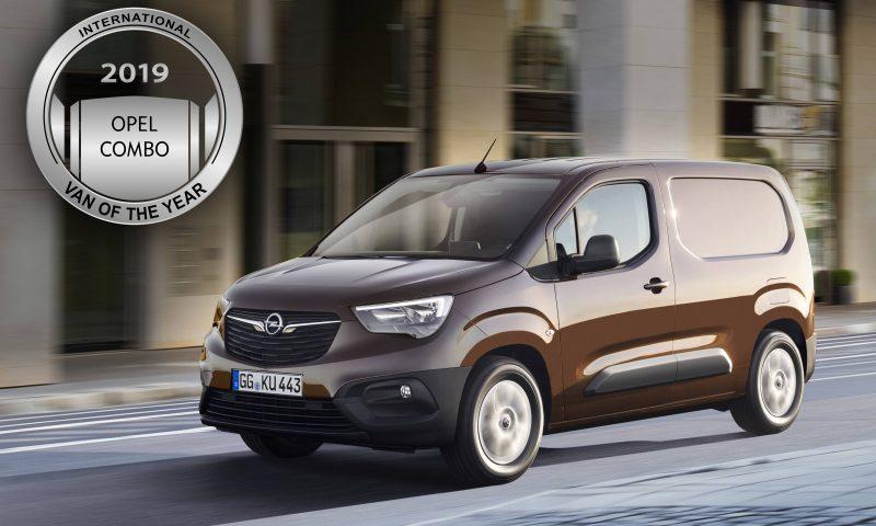 """Новият Opel Combo e """"Международен ван на годината"""" 2019"""