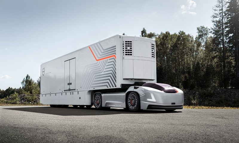 Volvo Trucks представя автономни електрически автомобили