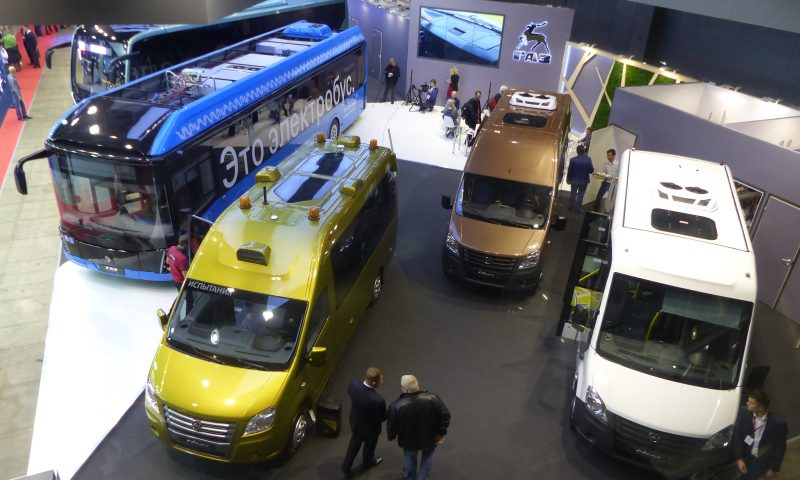A big increase in exhibitors and visitors for Busworld Russia 2018