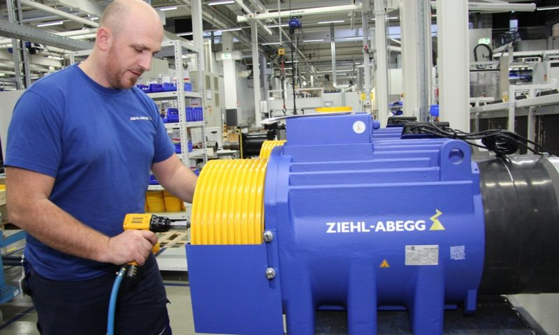 Ziehl-Abegg posts 8.1 percent organic growth in global sales