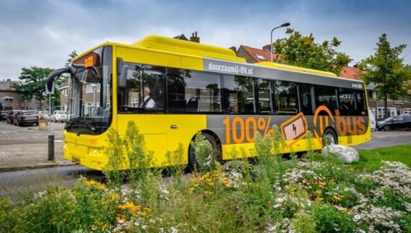 Заявка за 55 електрически автобуси в Утрехт
