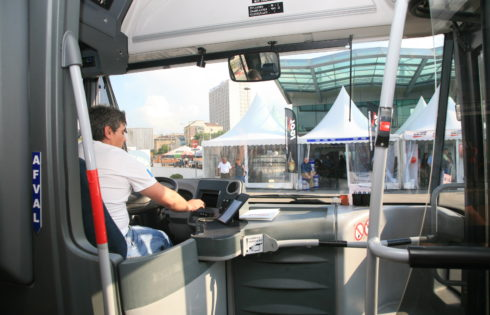 Driver positions unfilled in the European road transport sector