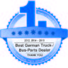 EUROPART отново е отличен като най-добрия търговец на части за товарни автомобили и автобуси