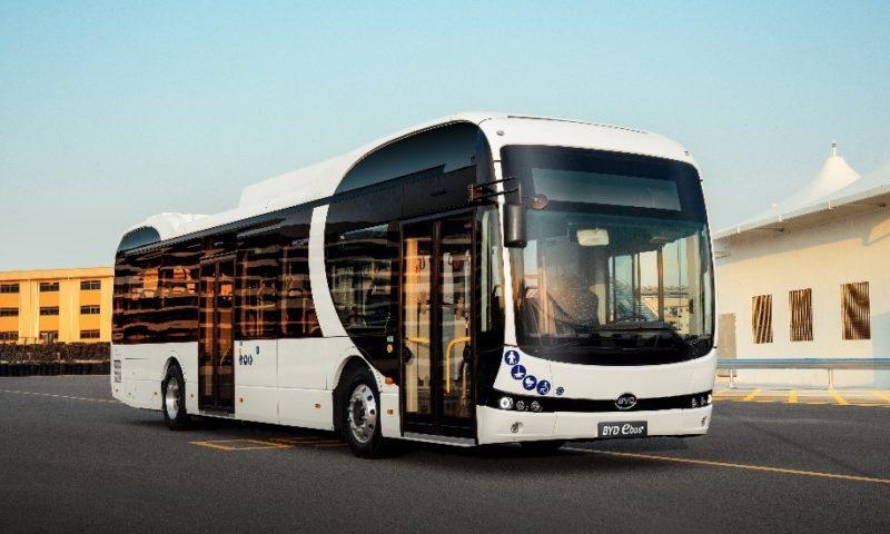 Поръчките на BYD eBus нарастват в Испания