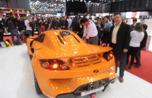 Great success for Sin Cars at the Geneva Motor Show