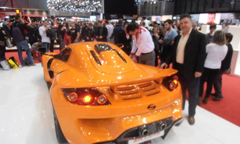 Голям успех за Sin Cars на автомобилното изложение в Женева