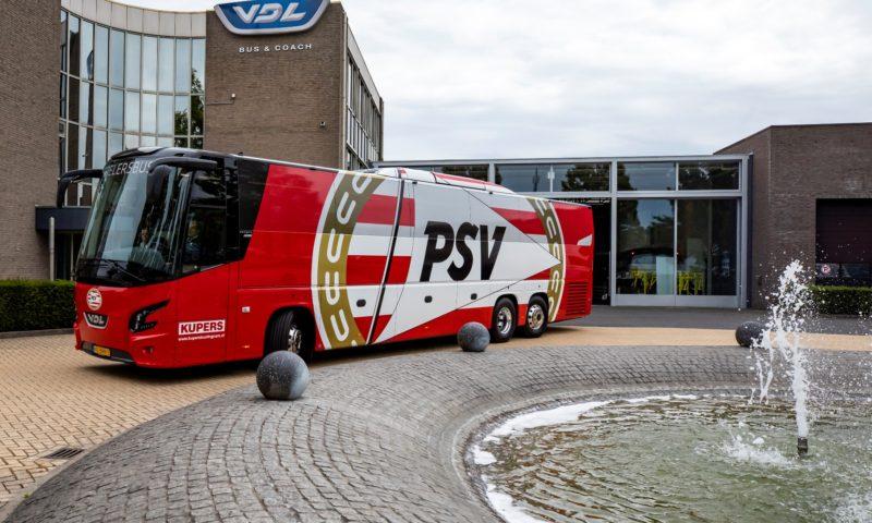 VDL Bus & Coach доставя нов автобус на PSV Айндховен