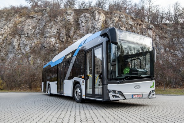 Solaris is the biggest supplier in electric buses in Europe