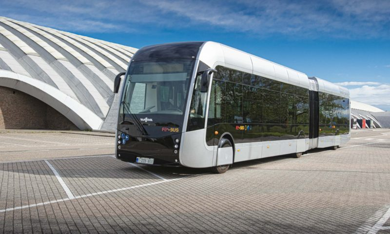 Van Hool to present three world premieres and  18 vehicles at BUSWORLD EUROPE 2019