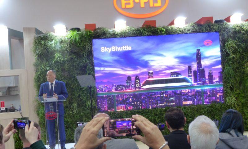"""BYD представи нов 12-метров """"автобус на бъдещето"""" на Busworld Europe 2019"""