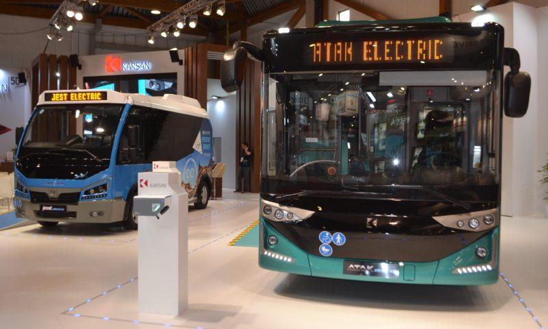 Karsan представи електрически си модели на Busworld Europe