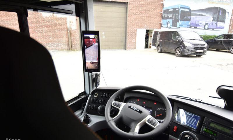 VAN HOOL представи пет превозни средства, оборудвани с камери и система за наблюдение