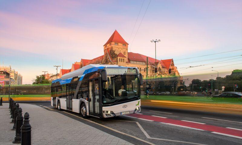 Доставка на електрическите автобуси Solaris за Унгария