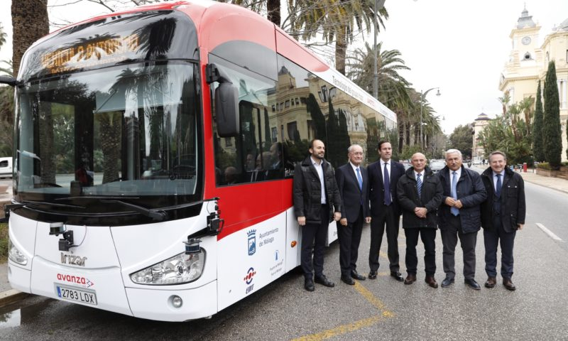 First Irizar Group autonomous bus presented in Malaga
