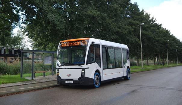 Tribus shows electric mobility line at VDV Conference