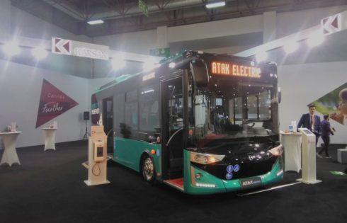 Atak electric Karsan at Busworld Turkey 2020