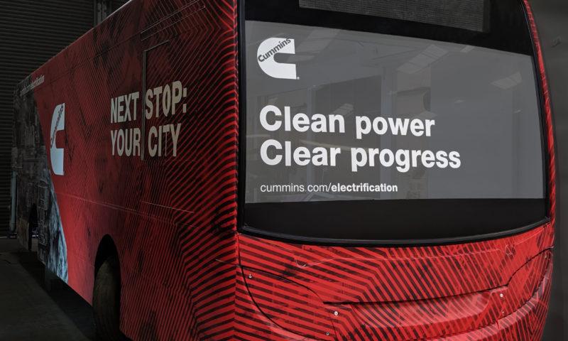 Cummins с нова електрическа система за батерии на Busworld Турция 2020