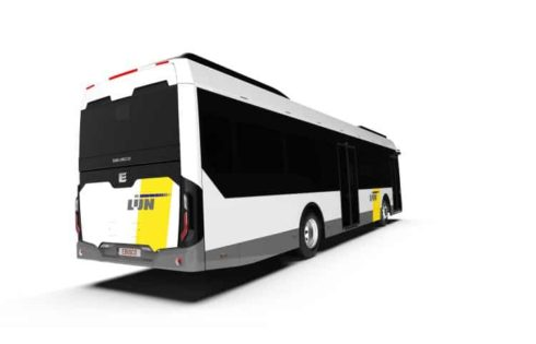 Ebusco electric buses go to Multiobus in Belgium