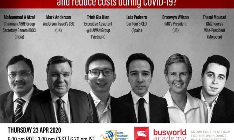 Как могат автобусните превозвачи да генерират доход и да намалят разходите по време на COVID-19