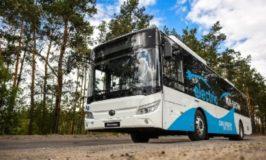 100 електрически автобуса YUTONG доставени в Казахстан
