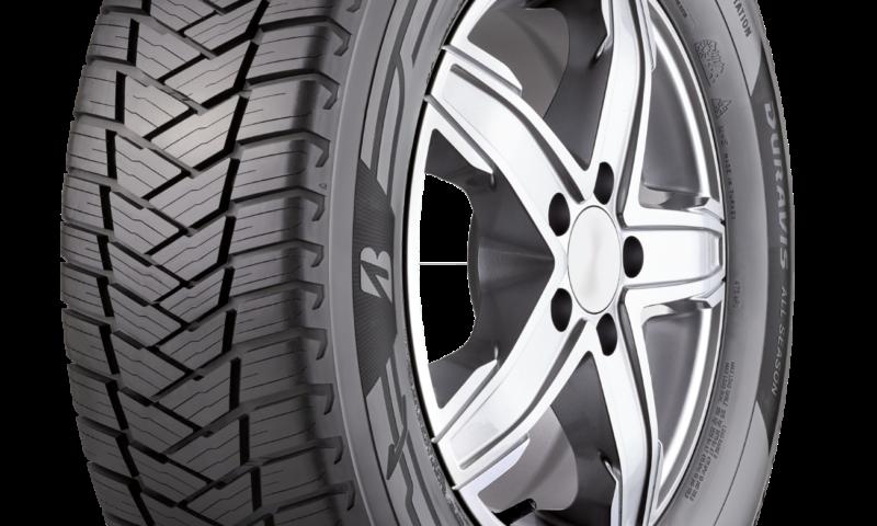Bridgestone пуска своята първа всесезонна гума за лекотоварния сегмент автомобили – DURAVIS All Season