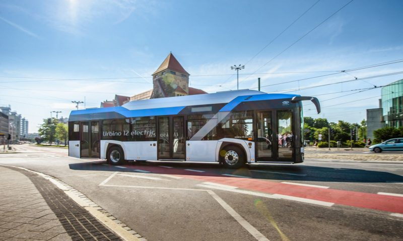 Solaris доставя електрически автобуси в Германия