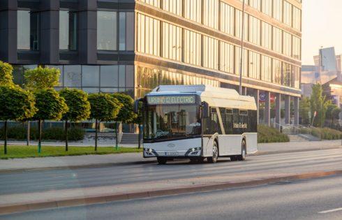 Solaris е лидер на полския пазар на електрически автобуси
