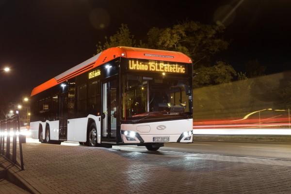 Световна премиера на Solaris Urbino 15 LE ELECTRIC