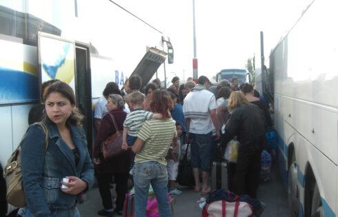 Нарушения при международен превоз на пътници