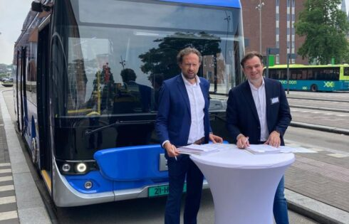 Ebusco's fully-composite, electric buses