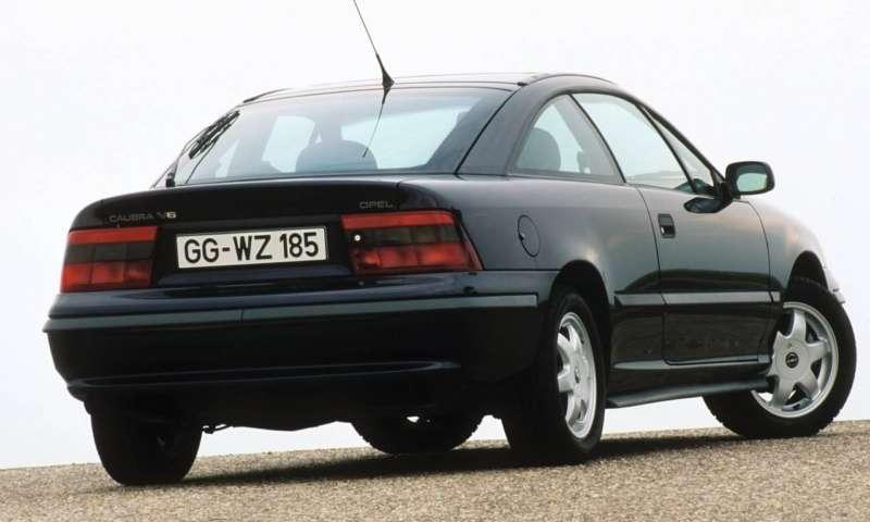 25 години Opel Calibra: От шампион по аеродинамика до култово купе