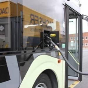 Градски автобуси на Volvo