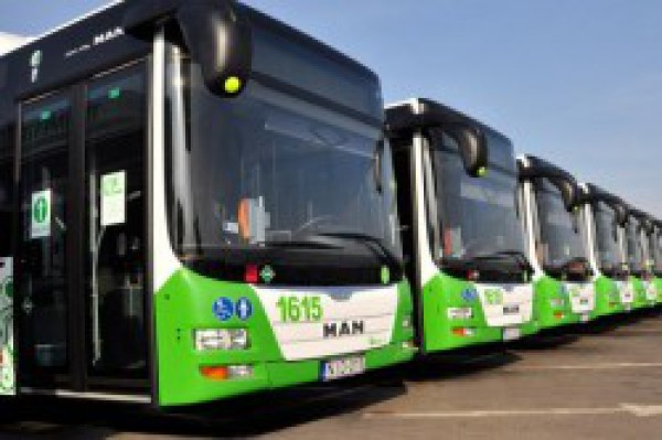 Hungarian city with 75 CNG MAN buses