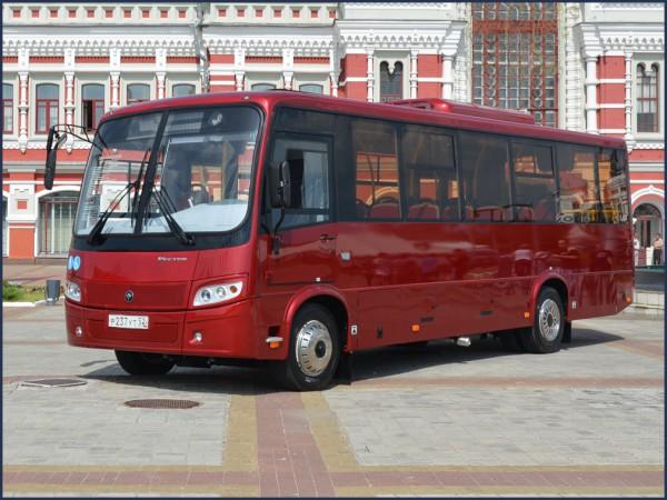 GAZ Group announces sales of PAZ buses