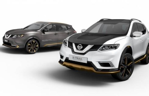 Моделите Qashqai Premium Concept и X-Trail Premium Concept  на Nissan