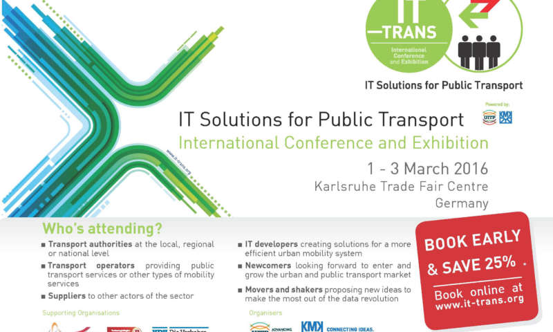 IT Solutions for Public Transport International Conference