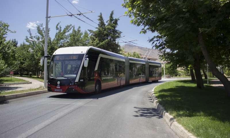 Тролейбусен семинар  в Турция