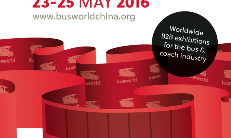 Busworld - BEIJING CHINA - 23-25 MAY 2016