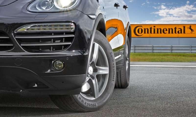 Continental с гуми за електромобили