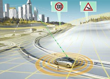 Технология от Continental предвижда пътя пред автомобила – новини от CES 2015 в Лас Вегас