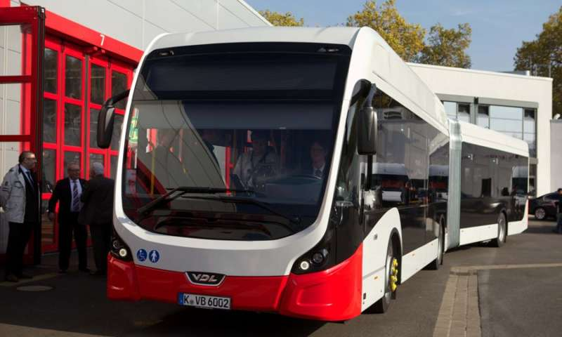 Delivery of first VDL Citea SLFA-180 Electric to Kölner Verkehrs-Betriebe AG