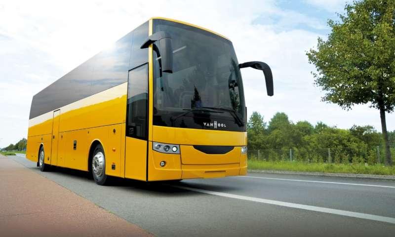 Van Hool представи световната премиера на напълно новата си серия туристически автобуси EX