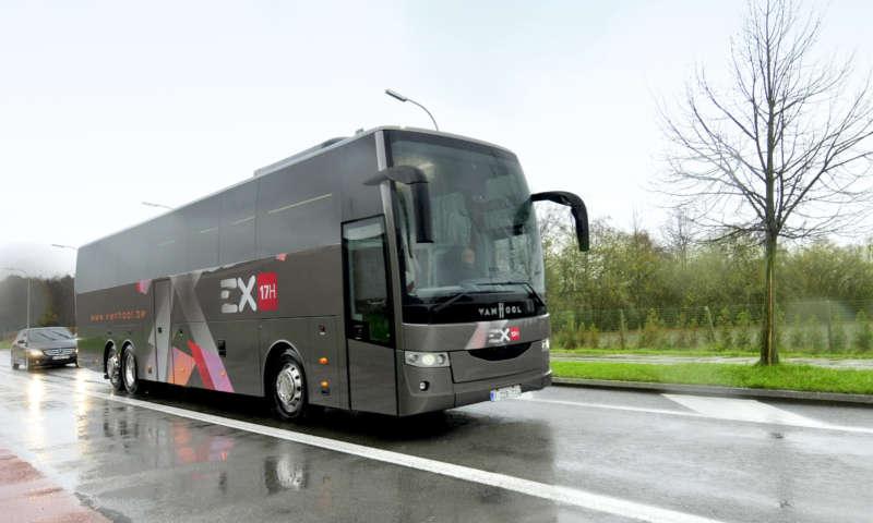 Над 100 туристически автобуси от гамата EX на Van Hool са продадени