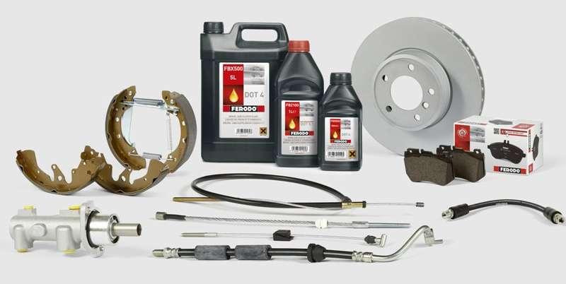 Ferodo® разширява хидравличната си гама с 536 нови продукта и представя обновена гама спирачни жила и спирачни апарати