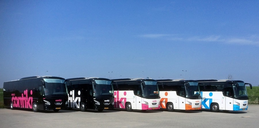15 Vdl Futuras For Contikiholland Vdl Coaches And Vans