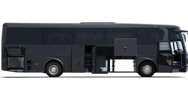 Луксозен туристически автобус Темса HD 13 DAF Euro 6