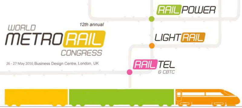 Who is attending the 12th Metrorail Congress?